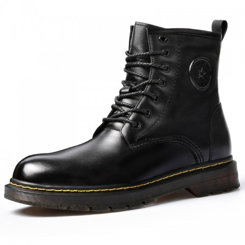 2020 Winter Height Increasing Boots Warm Elevator Patrol Boot Add Taller 6 cm / 2.4 inch