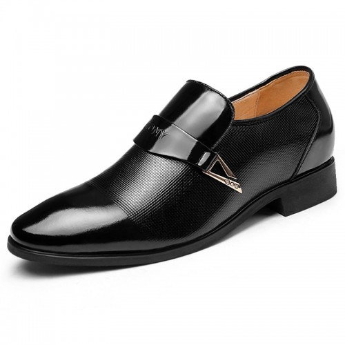 High quality leather men's elevator business dress shoe