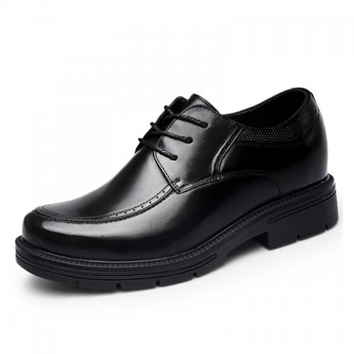 4inch Hidden Lift Dress Shoes Calfskin Taller Formal Business Shoes Increase Height 10cm