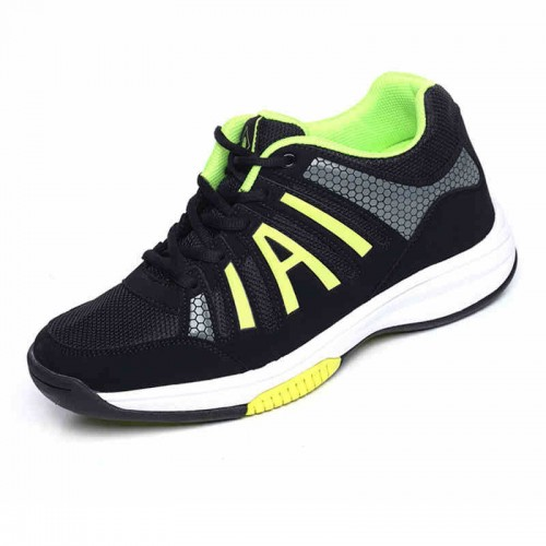 Ultralight classic increasing height 6cm / 2.36inches Sneakers black elevator athletic shoe