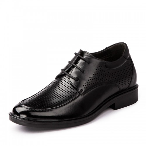 Breathable Oxfords height increasing sandals shoes grow taller 6cm / 2.36inches invisibly