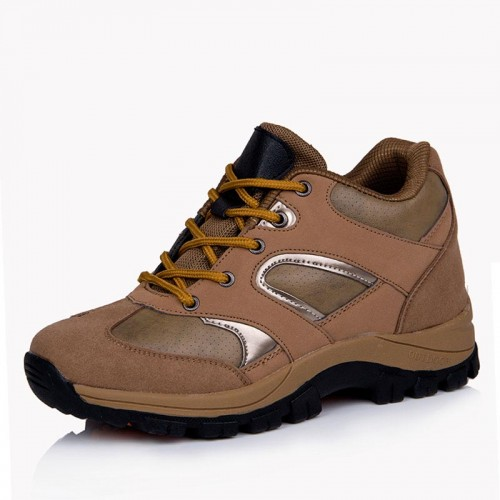 Elevator hiking sports shoes add height 8cm / 3.15inches outdoor Sneakers