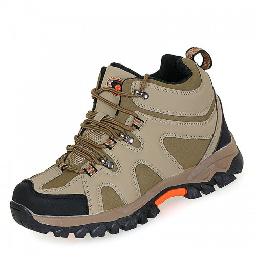 Khaki height elevator sports shoes increasing height 8.5cm / 3.35inch