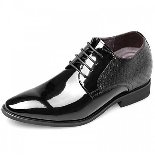 2018 Elevator Wedding Shoes for Men Increase Taller 2.8inch