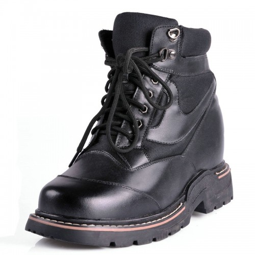 Super extra tall men shoes 6inch / 15 elevator ankle boots for men