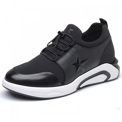Comfortable Men Taller Sneakers make you height 8cm / 3.2inch