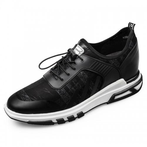 Comfort tide elevator sneakers for men height 2.6inch / 6.5cm