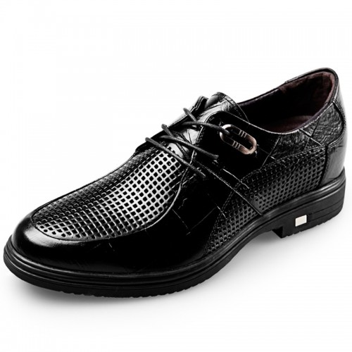 men Elevator Business Shoes height 6.5cm lace up sandals