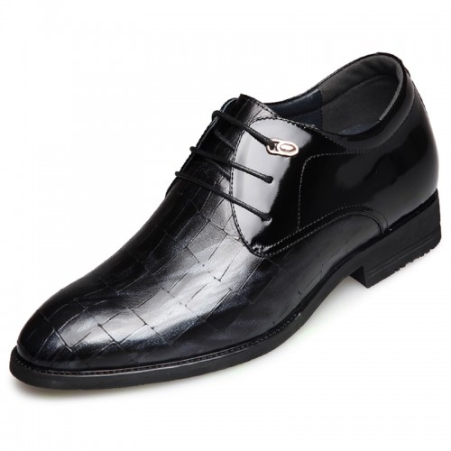 Modern Elevator Party Shoes for Men Increase Taller