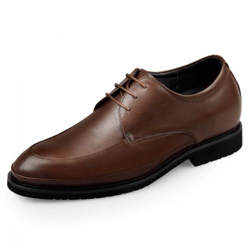 Lightweight Elevator Formal Shoes for men Taller 2.6inch / 6.5cm