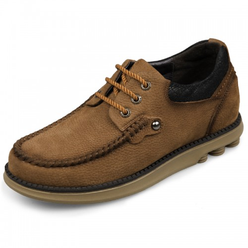 height increasing elevator wide shoes for men