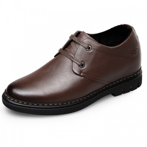 Best Heel Height Shoes for men taller Elevator Casual Warm Shoes