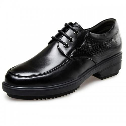 Korean elevator business taller gentlemen formal shoes 2.4inch / 6cm