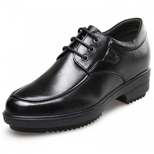 Korean gentlemen height business taller formal shoes 3.2inch / 8cm