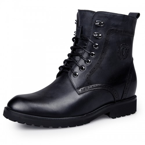 cowhide elevator boots for Taller