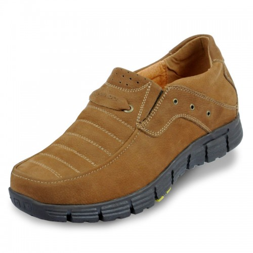 Higher increase athletic men outdoor sports shoes make taller 7cm / 2.75inches elevator shoes