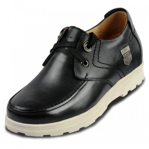 Height increasing leisure shoes for men improve height growth 8cm / 3.15inches elevator casual shoes