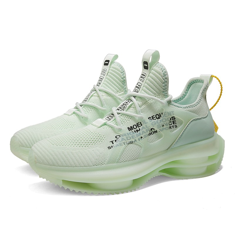 Green Lift Air Bubble Sneakers