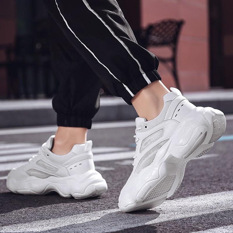 Light Fashion Hidden Heel Walking Shoes