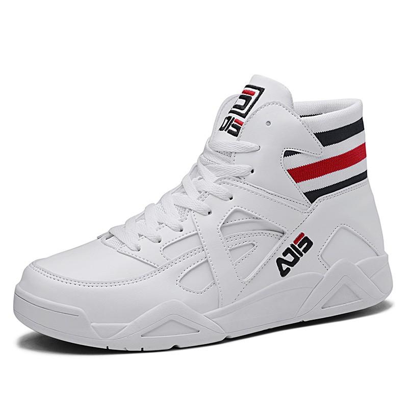 White Hidden Lift Men Skate Shoes