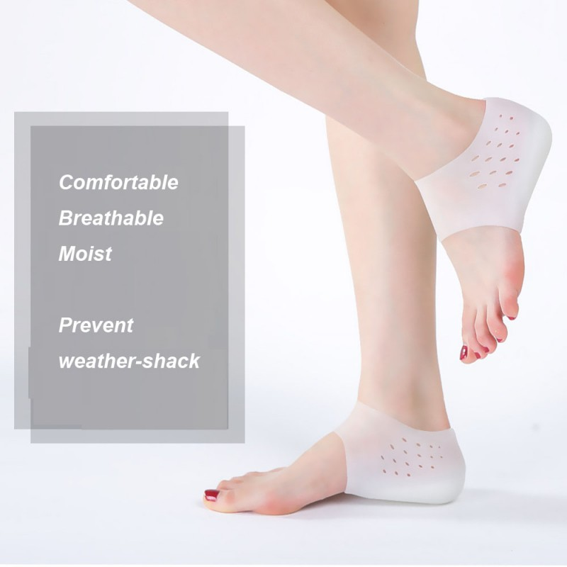Unisex Shoe Insole Comfortable Stress Relieve Invisible Height Increase Insoles
