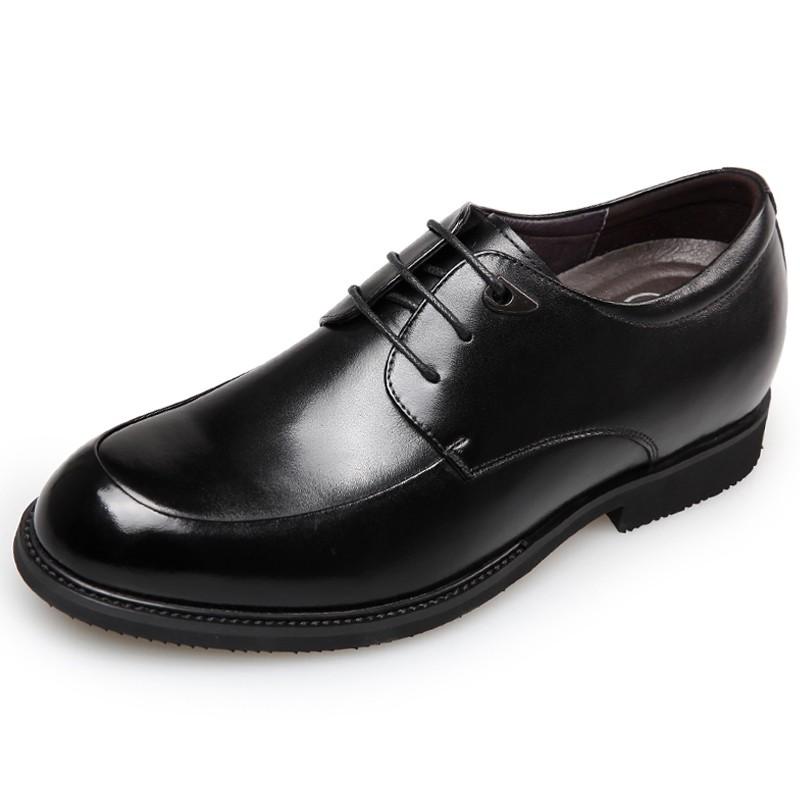 2018 Wide Elevator Dress Shoes for Men