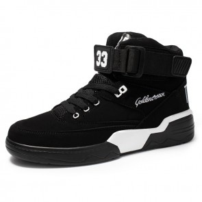 3 inch High Top Elevator Unisex Skate Shoes Increase Height 7.5 cm