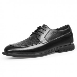 2021 Gentleman Elevator Formal Shoes Increase Height 2.4inch / 6cm Comfortable Hidden Lift Business Derbies