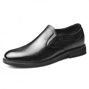 Elevator Gentleman Tuxedo Shoes Slip On Hidden Lift Fromal Dress Shoes Increase 2.4 inch / 6 cm
