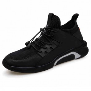 Ultralight Height Increasing Sneakers for men Taller 6cm slip on elevator trainers