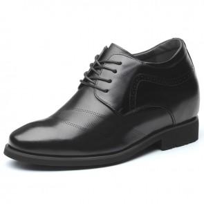 Taller Bridegroom Wedding Shoes Increase Height 4.7inch / 12cm Designer Elevator Derbies