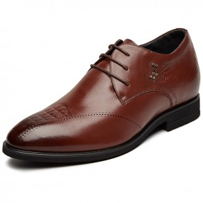 Trendy Hidden Taller Wedding Shoes for men