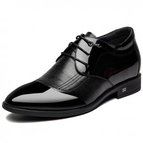 Pointy Toe Elevator Business Shoes for Men