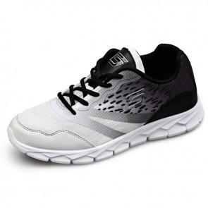 Men Ultralight Height Increasing Sneakers Altitude 2.6inch / 6.5cm elevator walking shoes