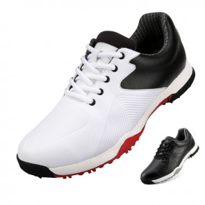 Soft Height Elevator Men Golf Shoes Lace Up Waterproof Sneakers Increase Taller 2.2inch / 5.5cm