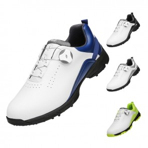 Hidden Lift Waterproof Golf Shoes Breathable Anti-Slip Rotating Buckle Sneakers Add Taller 2 inch / 5 cm
