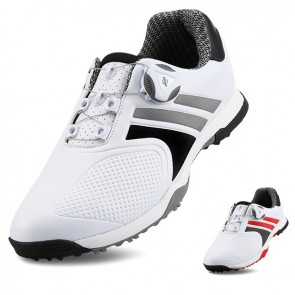 Professional Golf Shoes for Men Add Height 2 inch / 5 cm Hidden Taller Waterproof Anti-slip Knobs Buckle Trainers