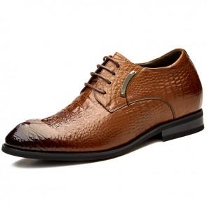 Luxury Groom Wedding Shoes taller 3.2inch
