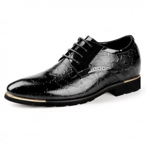 Exalted Elevator Dress Shoes Taller 2.4inch