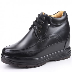 men tall shoes increase height 13cm / 5.12inches elevator shoes