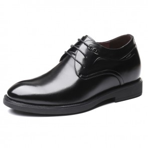 Social Elevator Business Formal Shoes Increase 2.8inch / 7cm Comfortable Men Taller Wedding shoes
