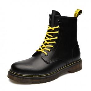 Elevator Side Zip Chukka Boots for Men Add Taller 2.4inch / 6cm Fashion Hidden Heel lift Boot