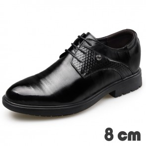 3.2inch taller business shoes for men increasing 8cm