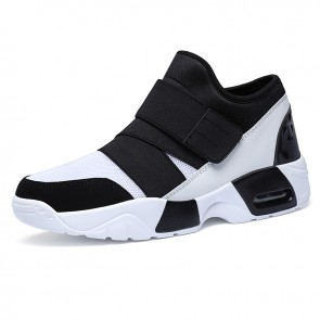 Stylish Height Increasing Skateboarding Shoes 2.6inch / 6.5cm Slip On Taller Casual Sneakers