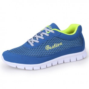 Campus Hidden Height Fashion Sneakers Gain Taller 2.4 inch / 6 cm Royal Mesh Running Shoes