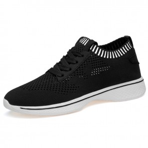Lightweight elevator slip on sneakers for men increasing height 7cm / 2.8inch