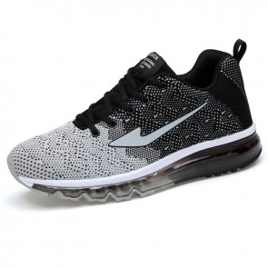 Height Increasing Men Trail Runners  Elevator Fashion Sneakers