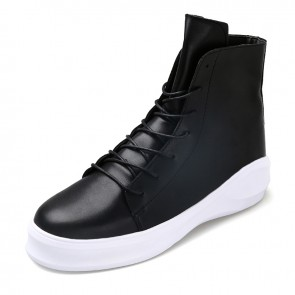 Stylish Hidden Heel Ankle Boots for Men