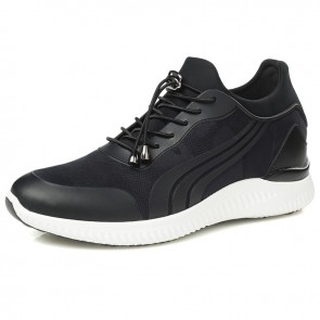 Fashion Men Elevator Sneakers Hidden High Heel Casual Sport Shoes