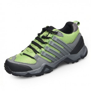 green aller hiking shoes increase height 7.5cm / 3inch